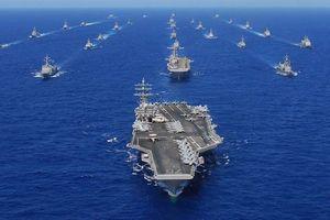 Hải quân Mỹ liên tiếp tập trận quy mô lớn