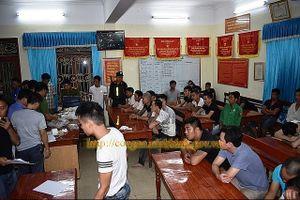 Ninh Bình: Bắt giữ 34 con bạc, thu gần 500 triệu đồng