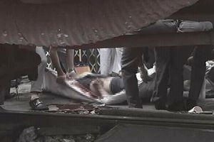 Lao qua đường ray, người đàn ông bị tàu hỏa tông tử vong