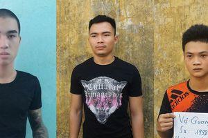 Nam Định: Nhóm thanh niên côn đồ bắt giữ người trái pháp luật bị bắt