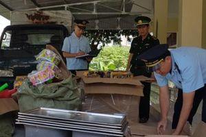Quảng Ninh bắt giữ 21 vụ vận chuyển trái phép hàng hóa