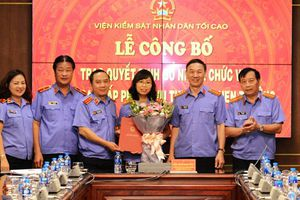 Bổ nhiệm lãnh đạo cấp phòng thuộc Vụ Thi đua - Khen thưởng