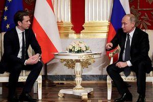 Áo đề cao hợp tác với Nga đảm bảo an ninh năng lượng cho châu Âu