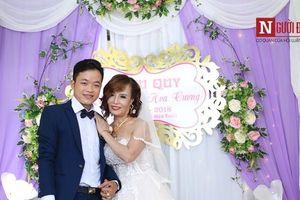 Cô dâu 61 lấy chồng 26 tuổi tiết lộ những cảm xúc lạ sau đám cưới