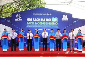 Thứ trưởng Bộ TT&TT Hoàng Vĩnh Bảo dự khai mạc Hội sách Hà Nội lần thứ V- 2018