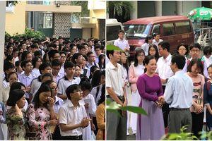 Chia tay thầy Hiệu trưởng tuyệt vời ông mặt trời - Học sinh giáo viên trường Trần Đại Nghĩa bật khóc nức nở
