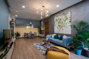 Ngắm nhìn căn hộ đầy an yên và rực rỡ sắc màu của cặp vợ chồng trẻ ở Sài Gòn
