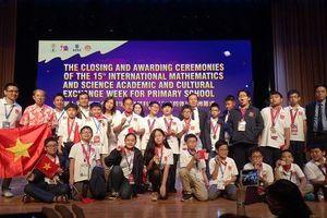 Toàn bộ học sinh Việt Nam đều giành huy chương tại IMSO 2018