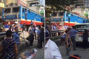 Hà Nội: Nam thanh niên bị tàu hỏa tông tử vong