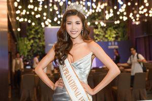 Minh Tú xúc động khi được đại diện Việt Nam thi Miss Supranational