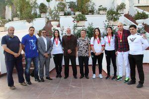 ĐSQ Việt Nam tại An-giê-ri gặp mặt đoàn vận động viên võ cổ truyền Việt Nam