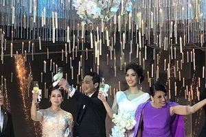 Đám cưới Lan Khuê hội tụ những gương mặt đình đám làng giải trí