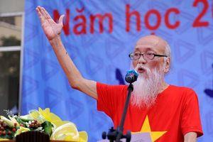 Tái hiện hình tượng nhà giáo Văn Như Cương tại Hội sách Hà Nội