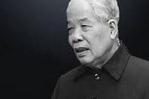 TP HCM: Lễ viếng nguyên Tổng Bí thư Đỗ Mười từ 7 giờ ngày 6-10