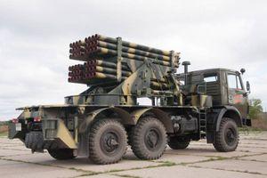 Cộng hòa Moldova giới thiệu giàn phản lực phóng loạt 'Grad' mới nhất 