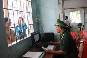 Khai trương cửa khẩu chính Phước Tân