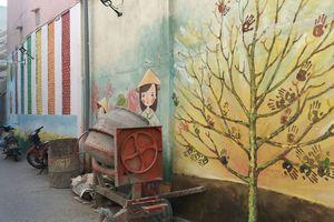 Nhếch nhác hẻm bích họa Đà Nẵng