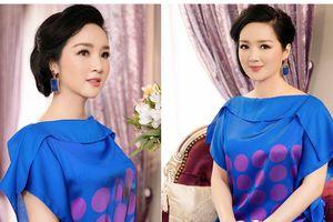 Hoa hậu Giáng My 'ăn gian' hơn chục tuổi nhờ diện trang phục sắc màu
