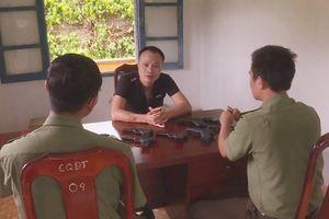 Xem xét kỷ luật lãnh đạo Công an huyện để cấp dưới trộm 9 khẩu súng