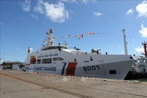 Lần đầu lực lượng bảo vệ biển Việt Nam - Ấn Độ diễn tập chung ở vịnh Bengal
