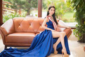 Á khôi Huỳnh Vy đại diện Việt Nam thi Miss Tourism Queen Worldwide 2018