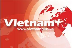 Thượng cờ Đoàn thể thao người khuyết tật Việt Nam tại Asian Para Games