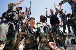 Quân đội Syria đánh sập tuyến phòng thủ và tiếp tế của IS ở Toloul al-Safa