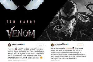 'Venom' được đánh giá là phim siêu anh hùng có phong cách hoài cổ từ những năm 2000