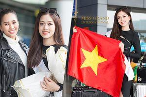 Tiểu Vy tiễn Phương Nga sang Myanmar, Việt Nam có cơ hội lọt Top 10 Miss Grand International 2018 nhờ fan vote?