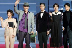 Nữ diễn viên trẻ Việt Nam Vi Xù cùng cặp chú-cháu 'Thử thách thần chết' tham dự 'Buil Film Awards 2018'
