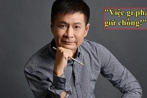 Đạo diễn Lê Hoàng gây bão mạng với quan điểm 'việc gì phải giữ chồng?'