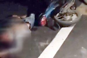 Hà Nam: Tông vào xe cẩu, thanh niên đi xe máy tử vong tại chỗ