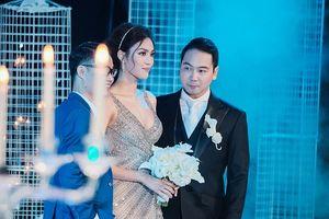 Lan Khuê duyên dáng, gợi cảm trong lễ cưới với doanh nhân Việt Kiều
