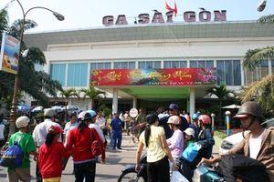 Ga Sài Gòn: Đã bán hơn 20.000 vé tàu Tết Kỷ Hợi