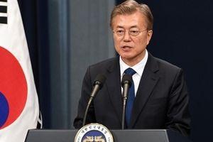 Tổng thống Moon tin tưởng hai miền Triều Tiên sẽ sớm thống nhất và thịnh vượng