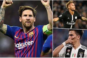 Cầu thủ xuất sắc nhất Champions League 2018/2019: 'Ngả mũ' trước Messi