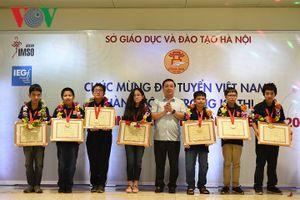 Tất cả thí sinh Việt Nam tham dự kỳ thi quốc tế IMSO đều đoạt giải