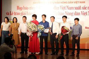 Tôn vinh 63 nông dân Việt Nam xuất sắc năm 2018