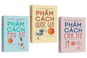 Bộ 3 cuốn sách gây xôn xao Nhật Bản được ra mắt ở Việt Nam