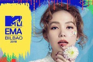 Minh Hằng bị phản đối dữ dội khi được đề cử dự MTV EMA 2018