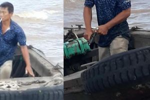 Dùng súng thị uy trên sông Hậu: Phạt 3 triệu đồng và tịch thu súng