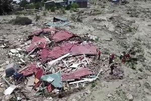 Động đất, sóng thần ở Indonesia: Số người thiệt mạng tăng lên gần 1.600 người