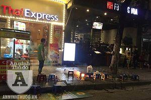 Xe điện cân bằng phát nổ trên phố đi bộ hồ Hoàn Kiếm