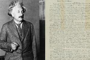 Bức thư của Einstein với mức giá 1 triệu USD