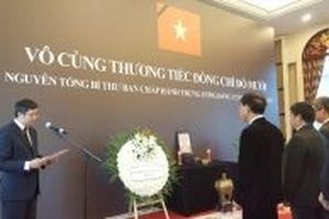 Lễ viếng nguyên Tổng Bí thư Đỗ Mười tại Trung Quốc