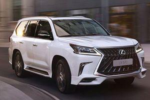 SUV hạng sang Lexus LX570 S mới 'chốt giá' 2,76 tỷ đồng