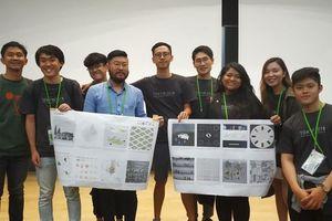 Sinh viên Việt cùng đồng đội đoạt giải nhất liên hoan kiến trúc châu Á