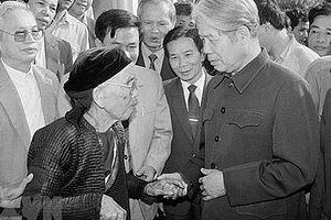 Nguyên Tổng Bí thư Đỗ Mười: Người cộng sản kiên trung, hết lòng vì nước, vì dân
