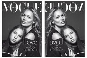 Con gái 16 tuổi của siêu mẫu Kate Moss đẹp như trăng rằm