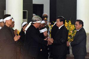 Các đoàn nước ngoài đến viếng nguyên Tổng Bí thư Đỗ Mười
